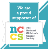 We are a proud sponsor of The National Children's Cancer Society